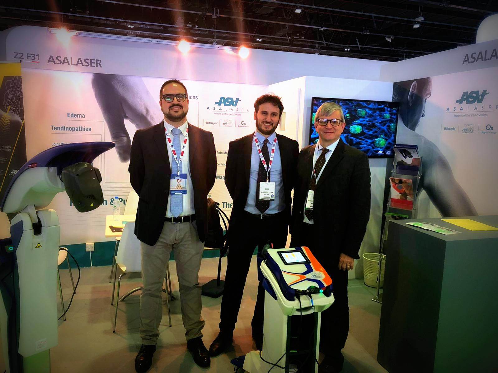 Arab Health 2020 - ASA Sales team