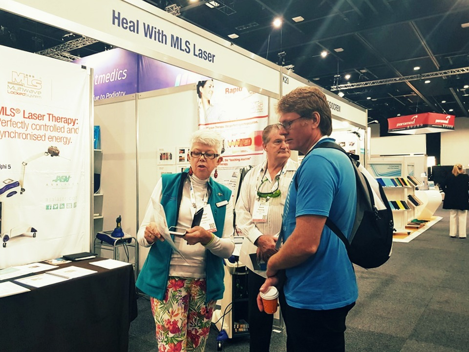 Australian Podiatry Conference 2019 - Dr. Bronwyn Cooper