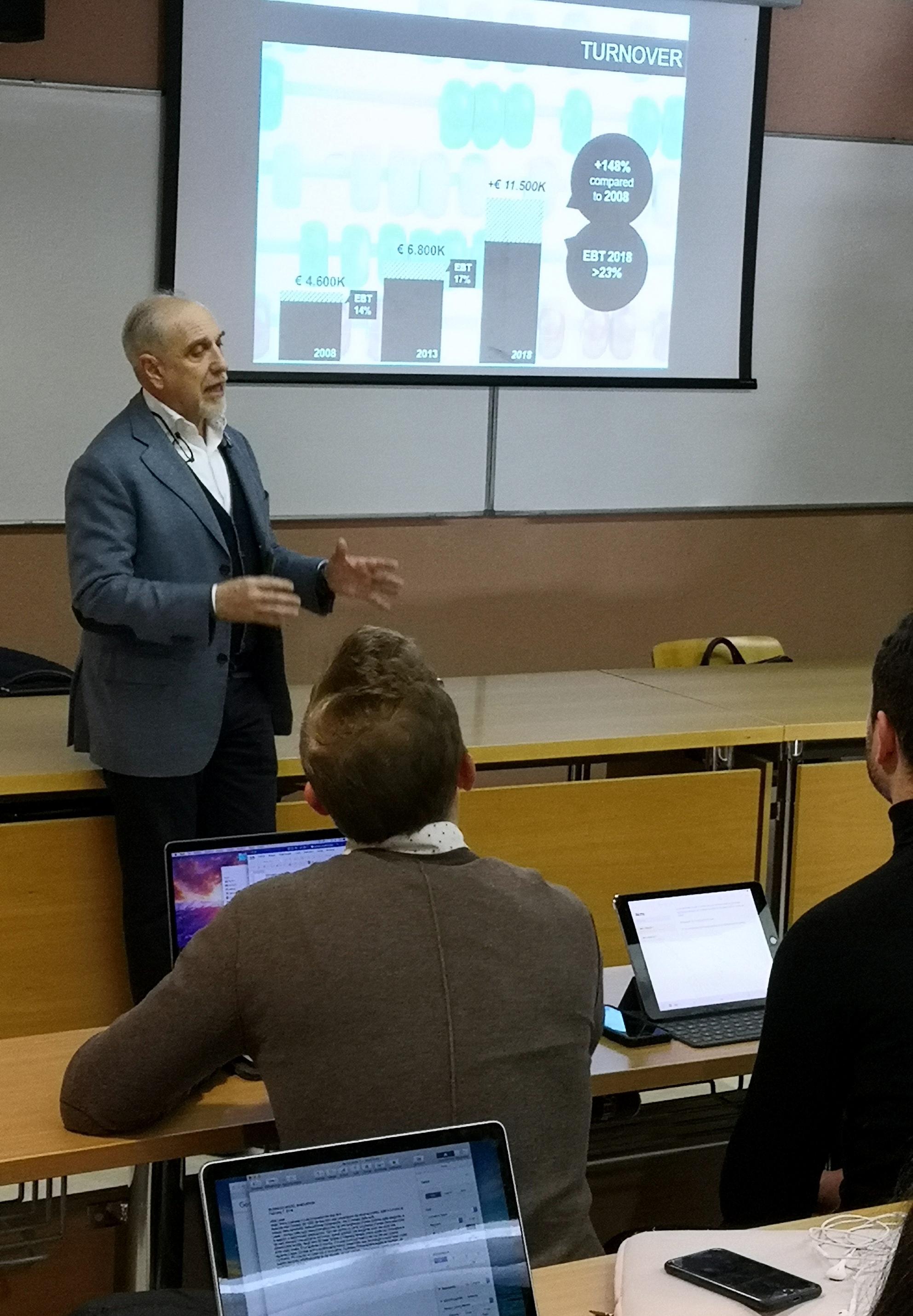 Speech Marchesini - ASA Ca Foscari Business Model 2019