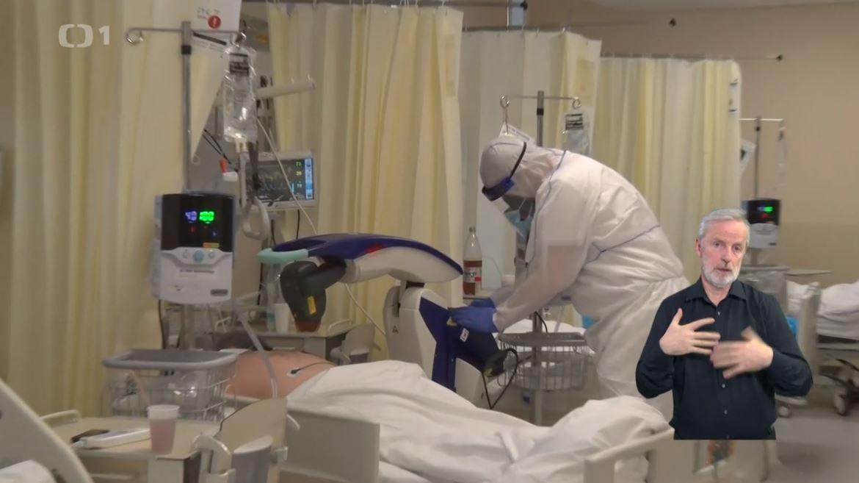 M6 laser treatment at Kolin Hospital - Ceska Televize
