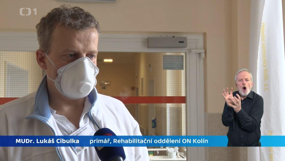 MUDr Lukas Cibulka - head physician at Kolin Hospital