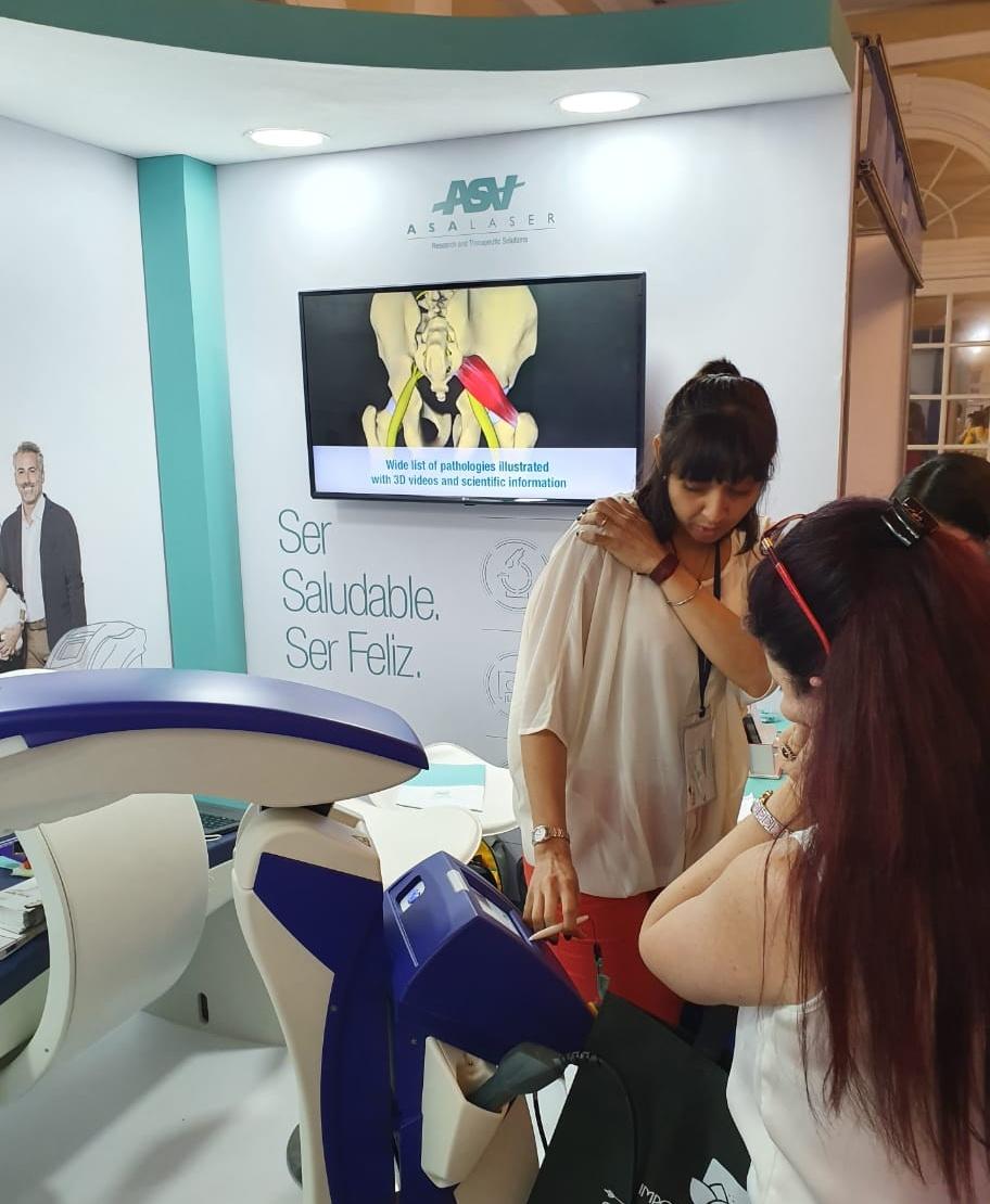 Congreso Fisioterapia de Colombia 2019 - M6 laser