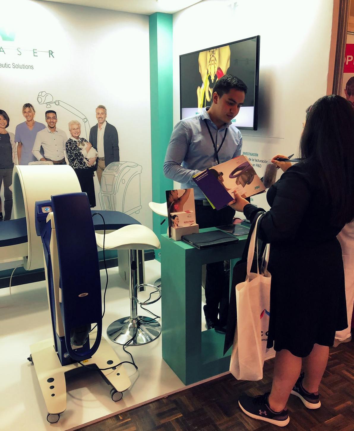 Congreso Fisioterapia de Colombia 2019 - laser y magnetoterapia