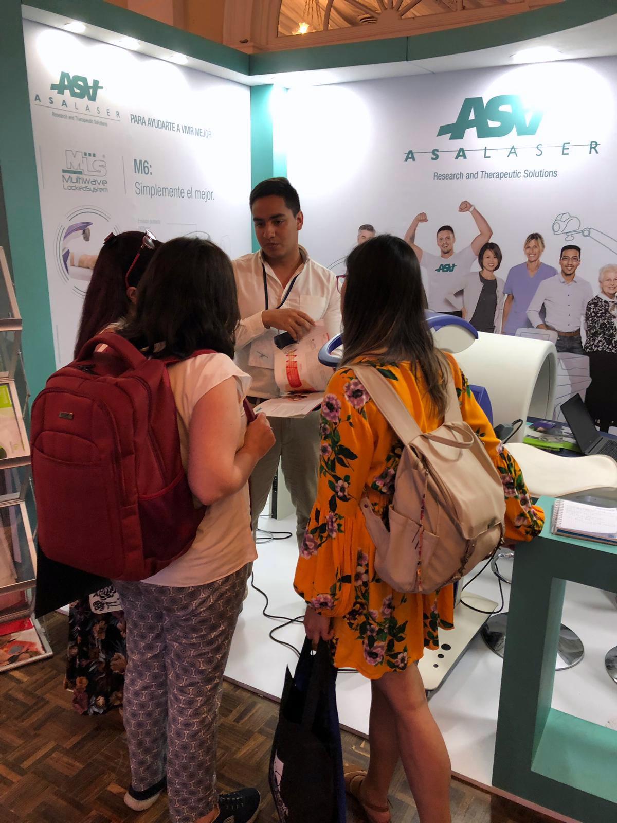 ASA en Congreso Fisioterapia de Colombia 2019