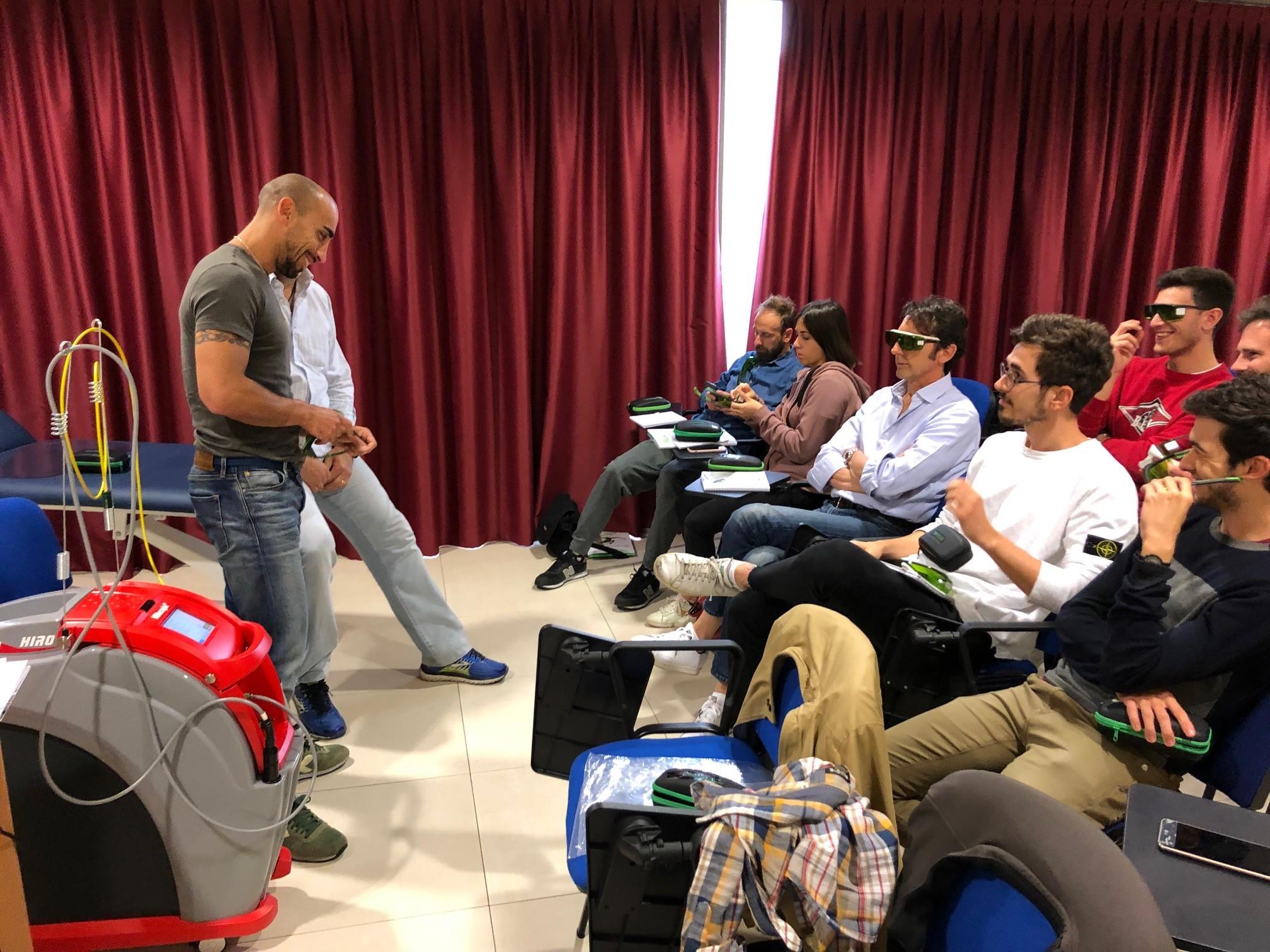 Corso master Hilterapia Emilia 2019