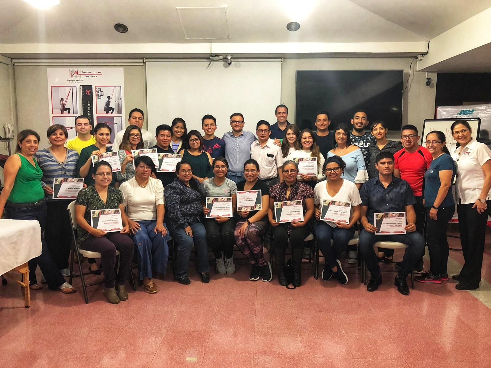 Corso formazione Laserterapia MLS Guatemala - 2019