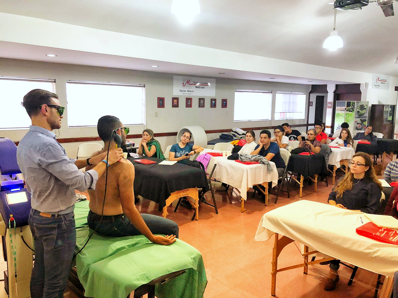 Training Laserterapia MLS Guatemala - 2019