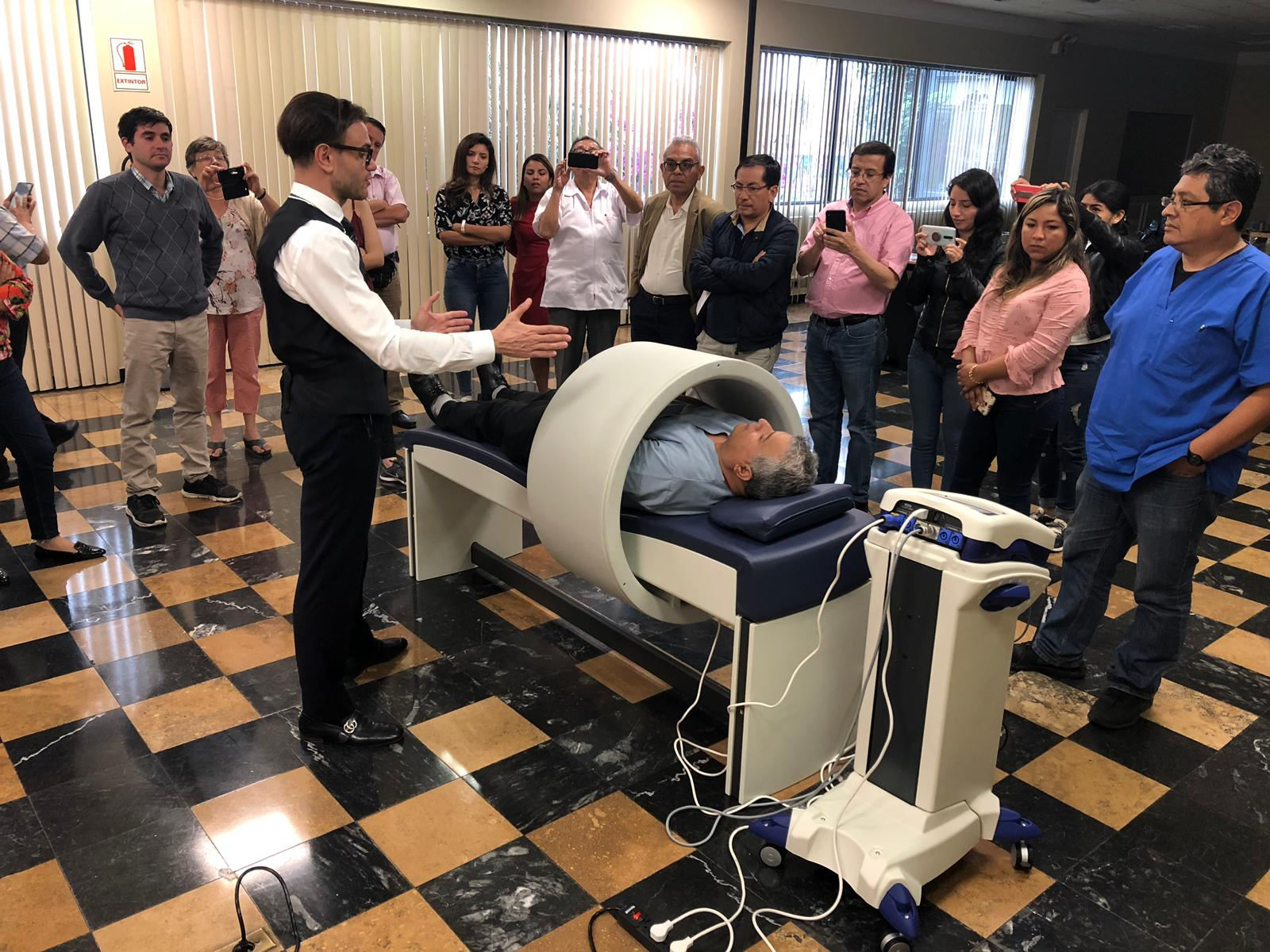 Formacion Magnetoterapia PMT Qs en Peru