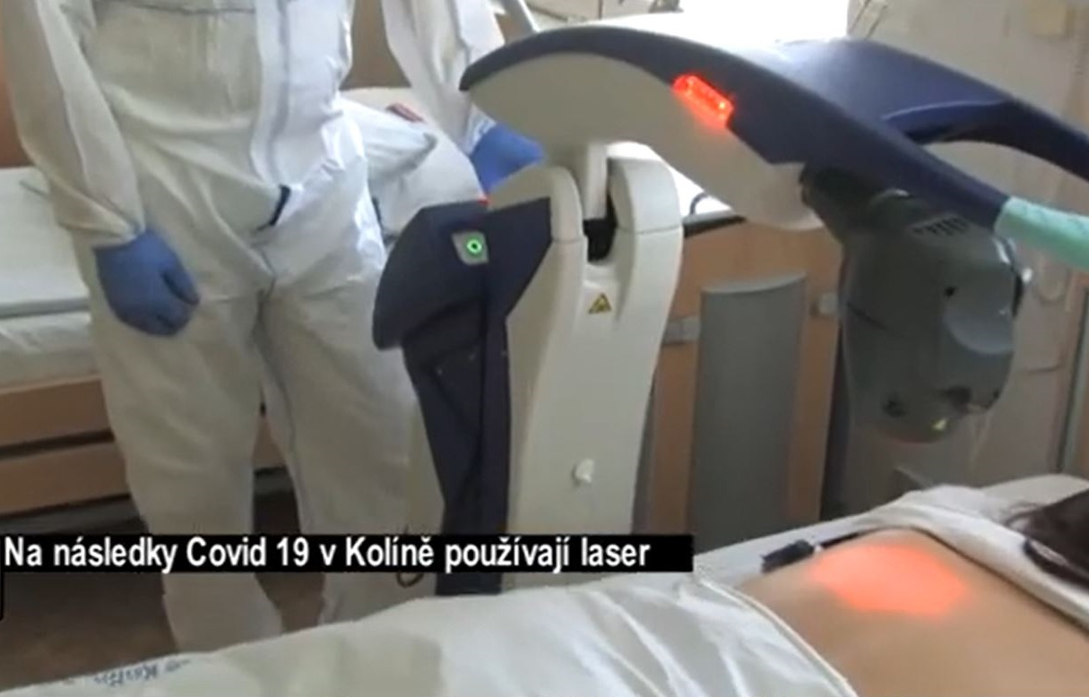 M6 laser device at Kolin Hospital
