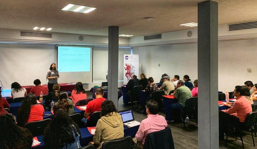 M6 laser training - Guadalajara 2019
