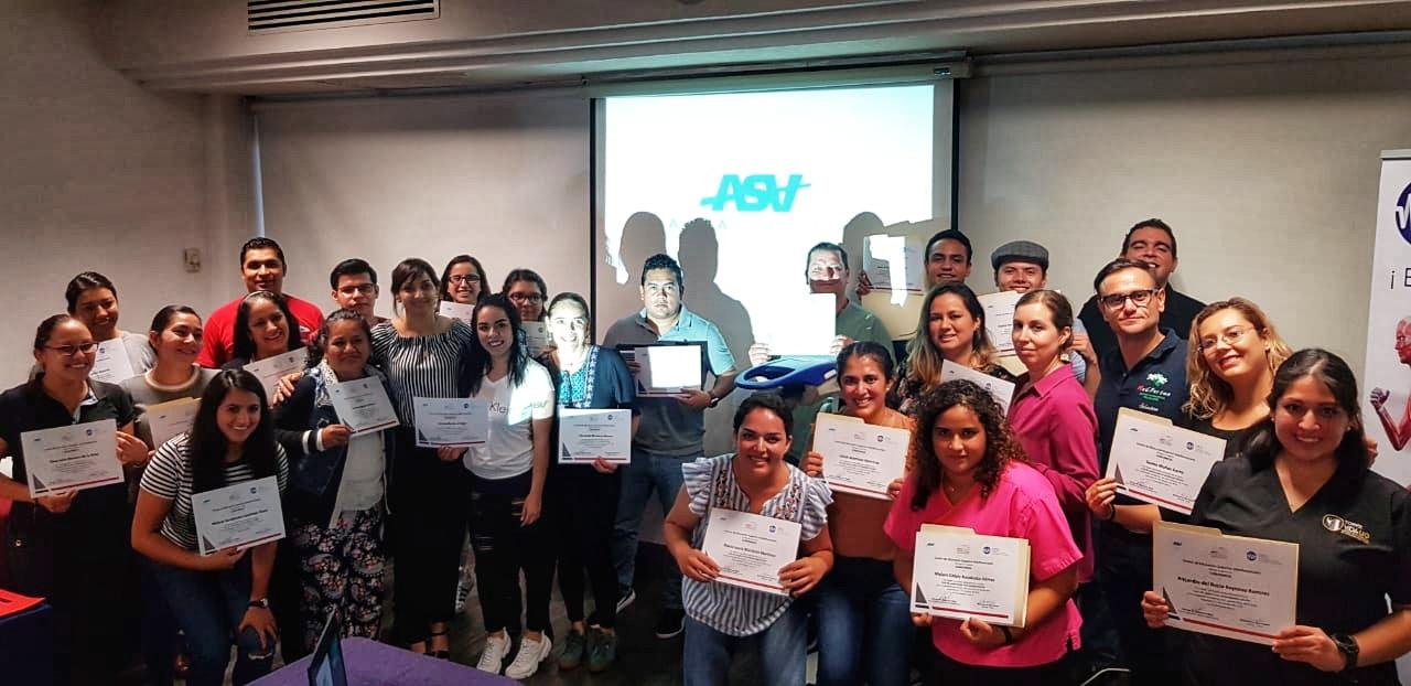 MLS laser therapy training - Guadalajara 2019