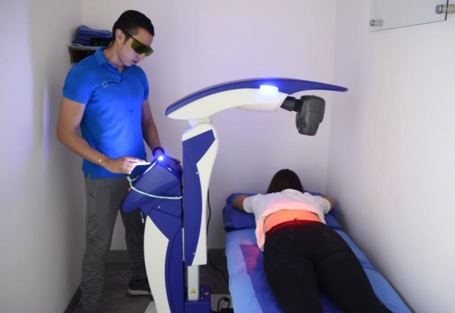 Francisco Marquez - Laserterapia MLS con dispositivo M6