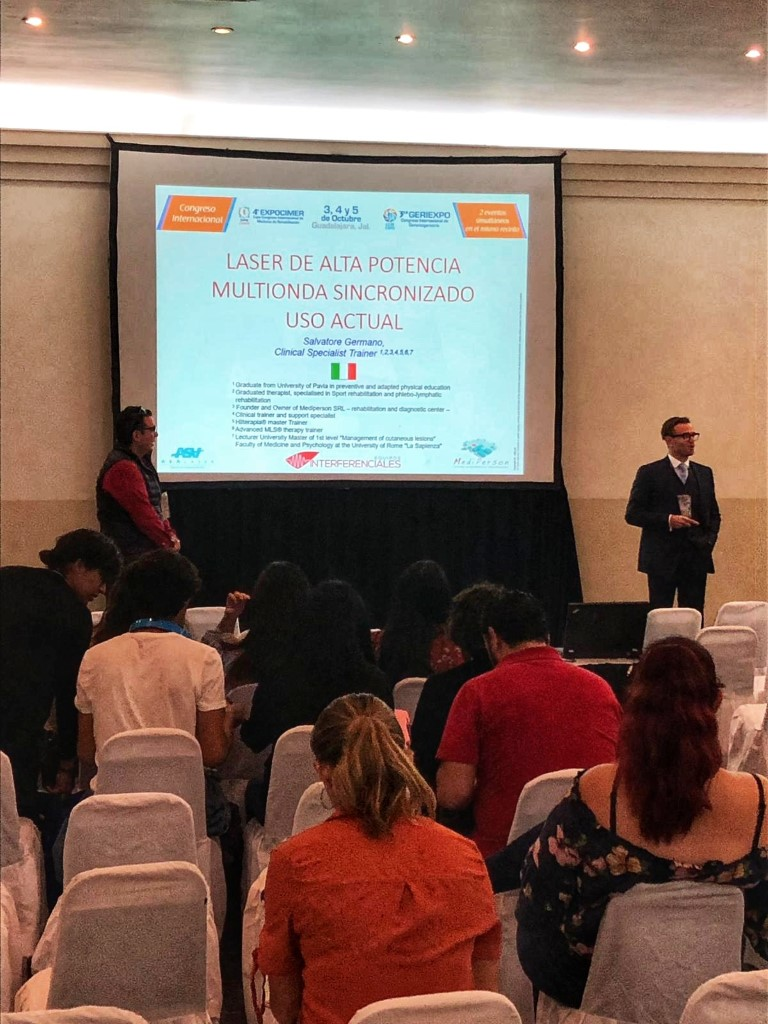 Expocimer 2019 - MLS laser therapy conference