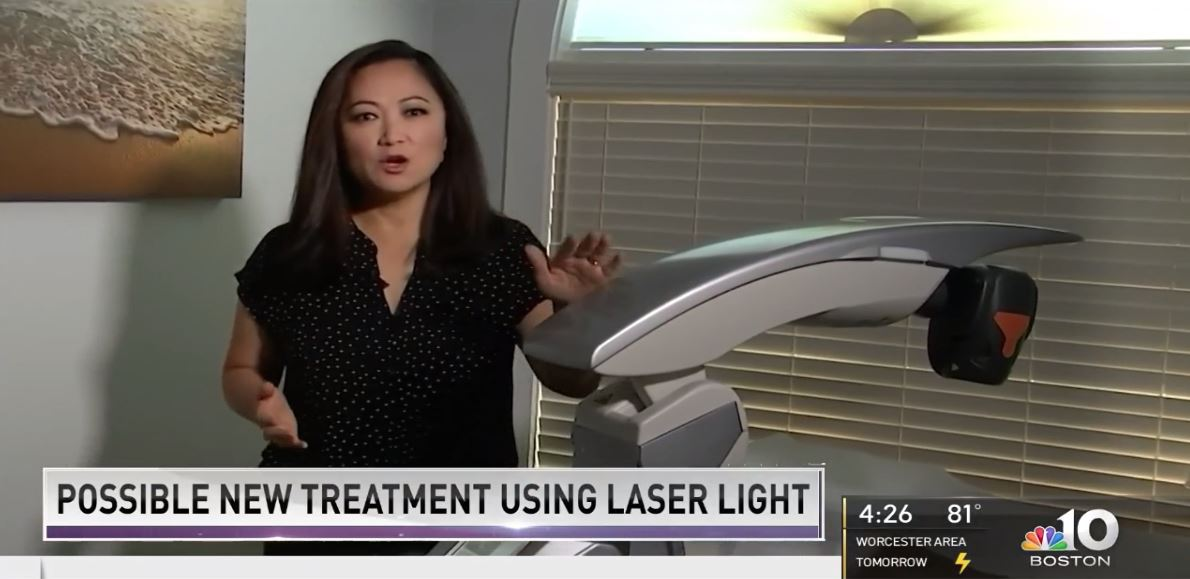 NBC Boston News - MLS laser & COVID-19