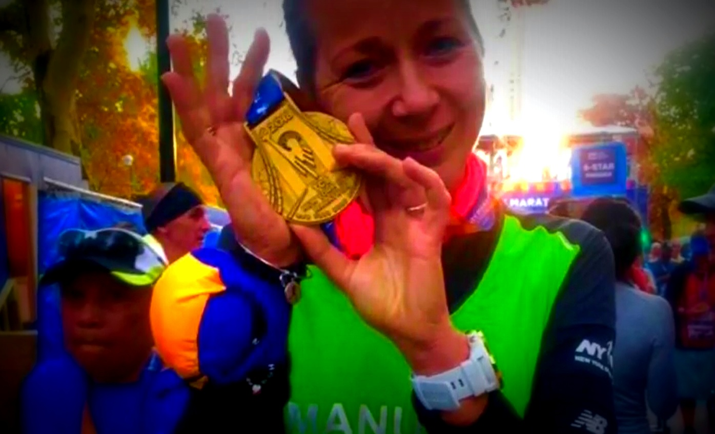 Blog - NY Marathon medal thanks to HIRO TT