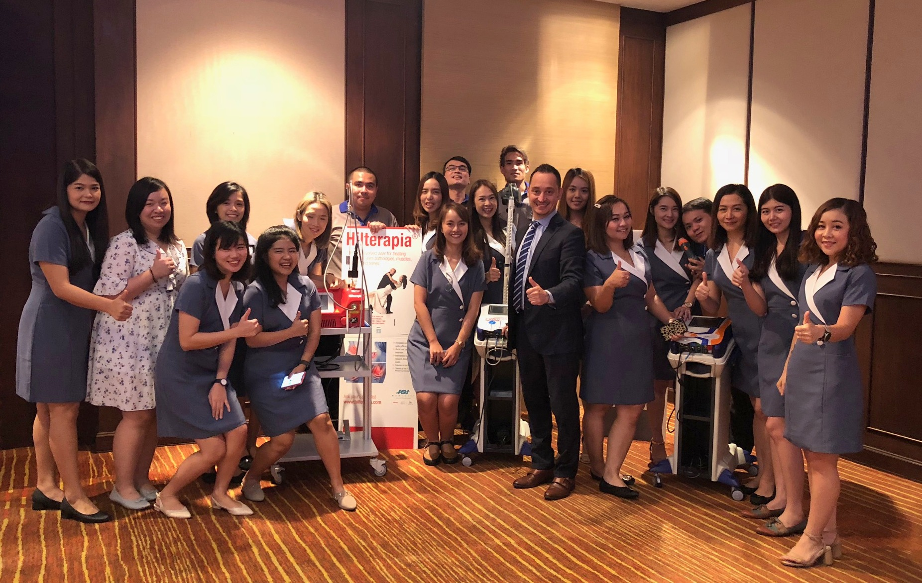 Todorov laser speech at Bumrungrad Hospital - Thailand 2019