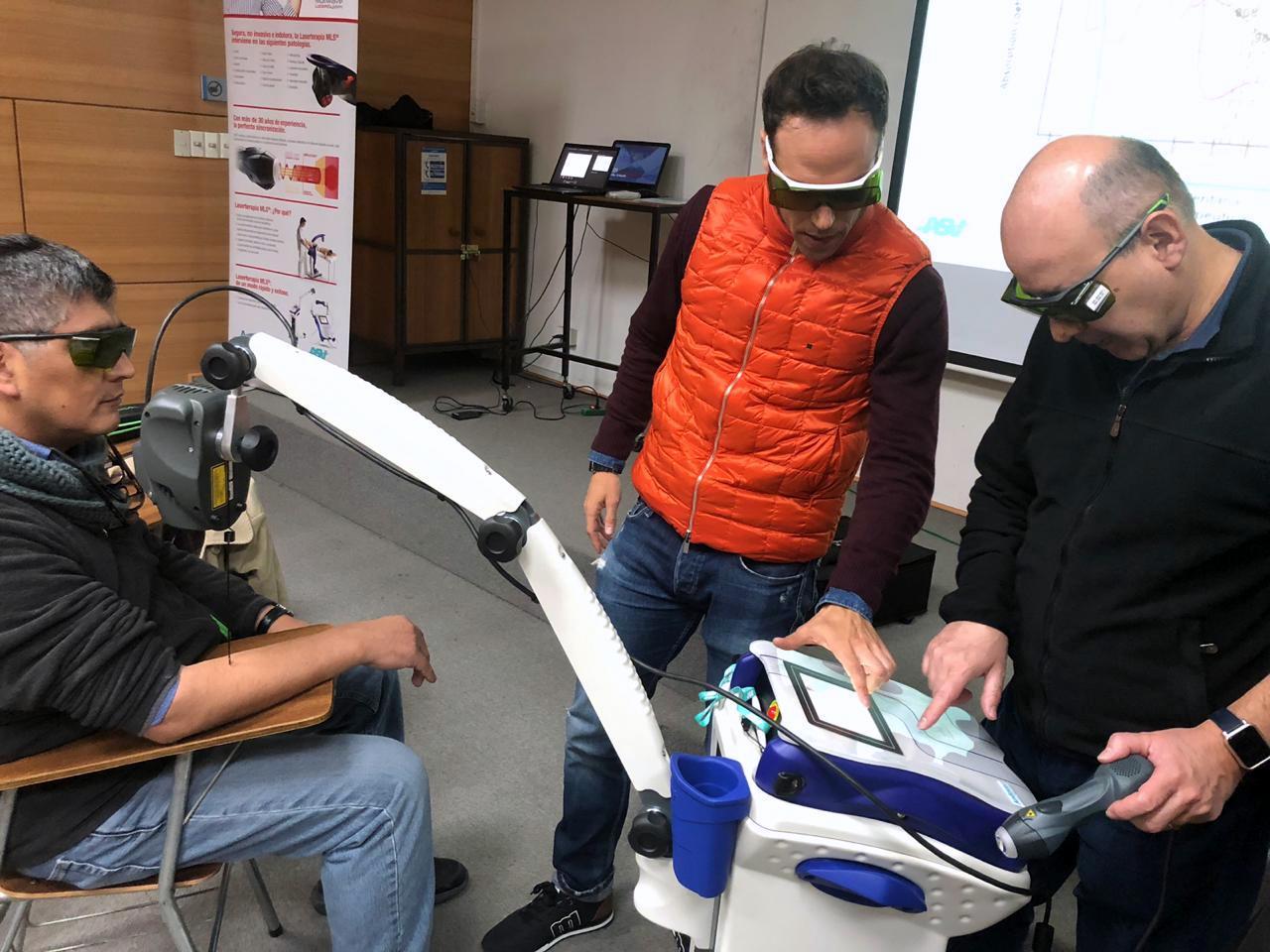 Formazione laser Mphi5 ASA Cile 2019