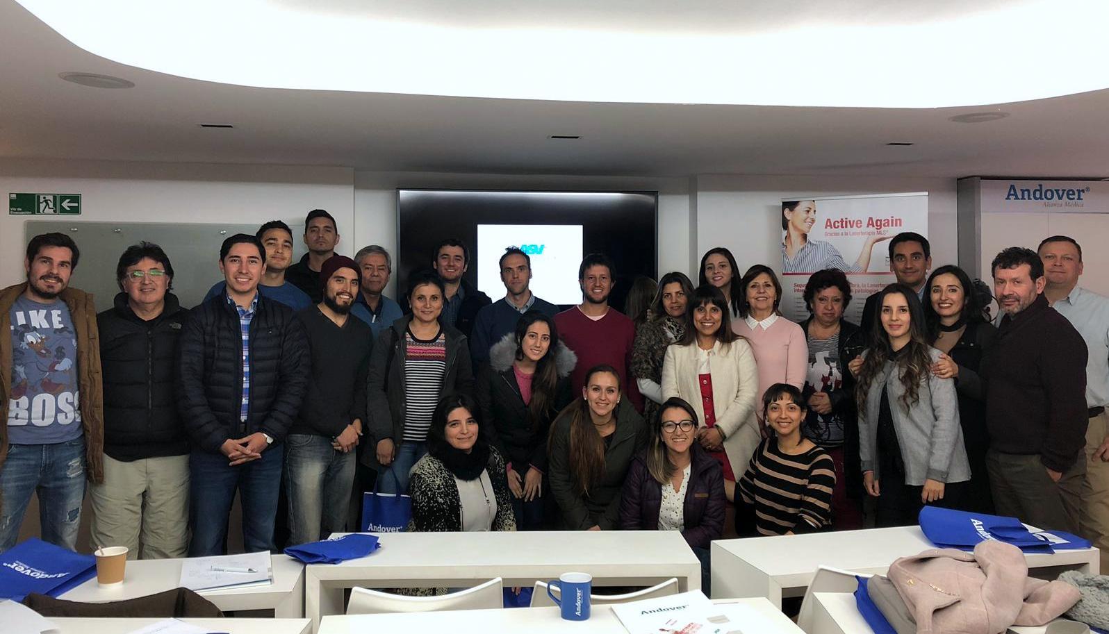 Formazione laserterapia ASA Cile 2019