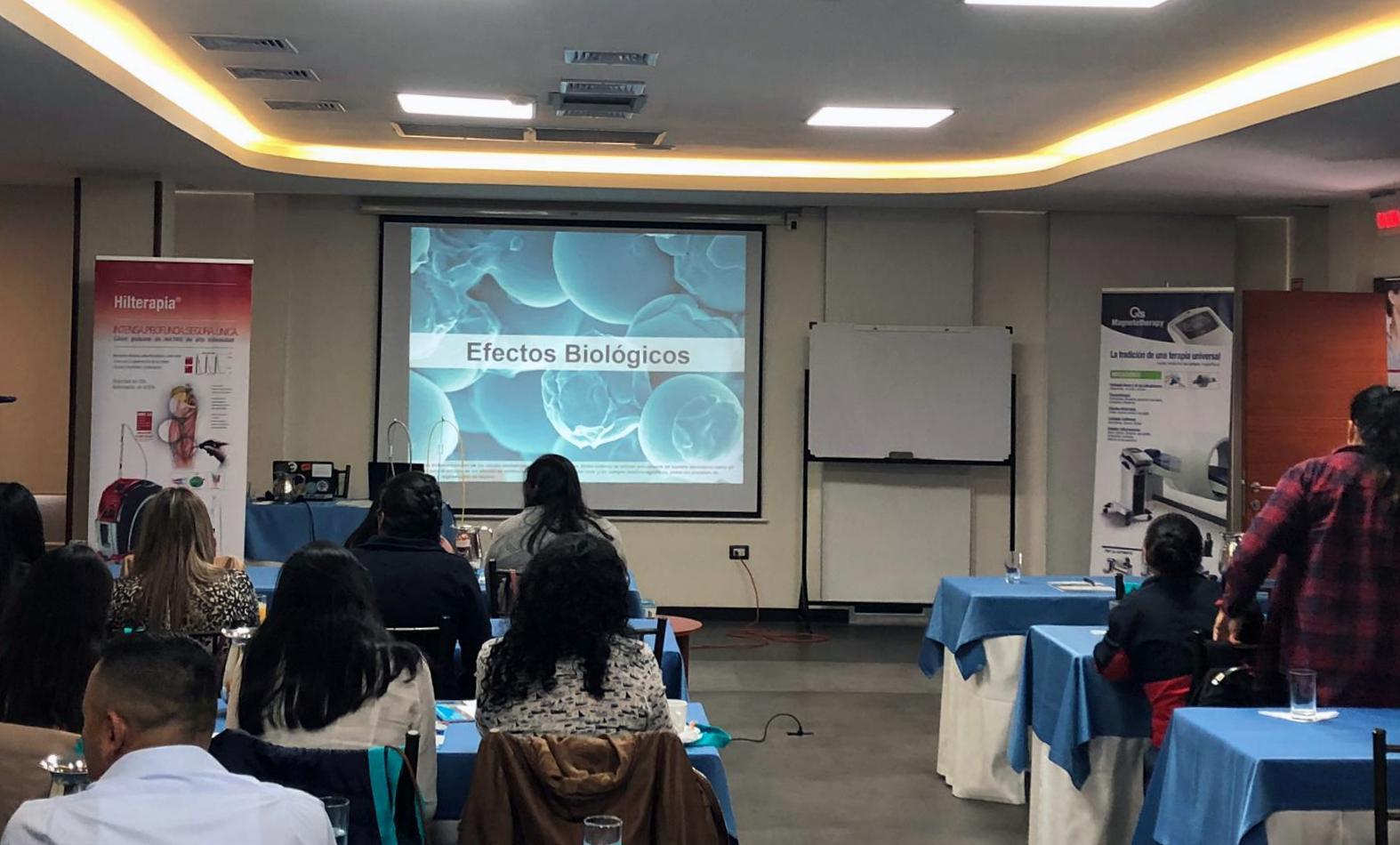 Formazione teorica laserterapia ASA Ecuador 2019
