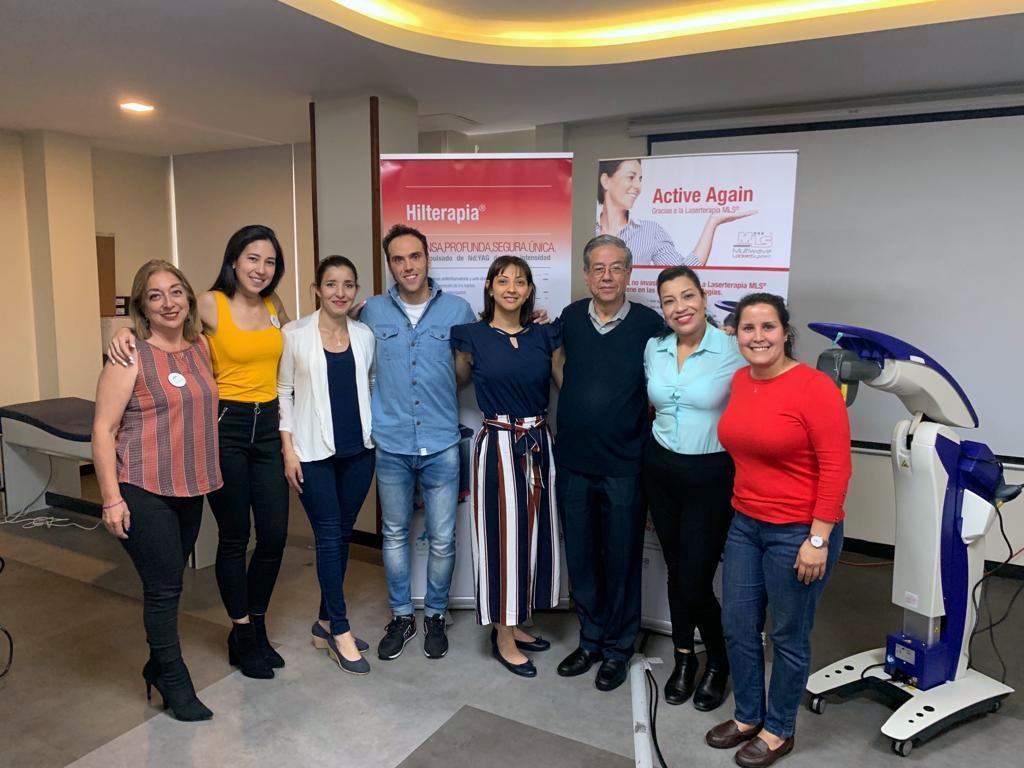 Formazione  terapie ASA Ecuador 2019