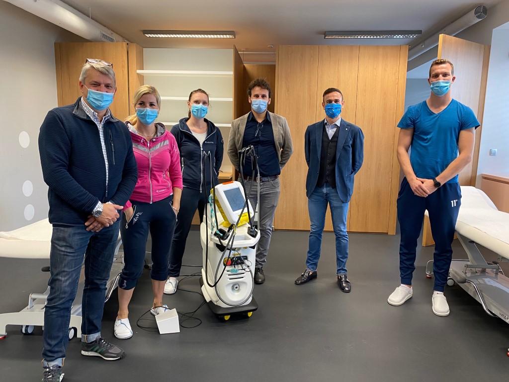 Training HIRO TT laser device - Slovenia - October 2020