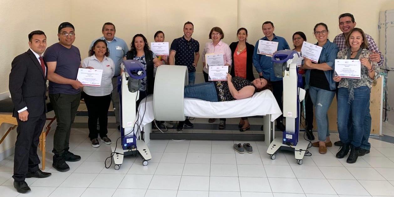 Formacion magnetoterapia Mexico 2019