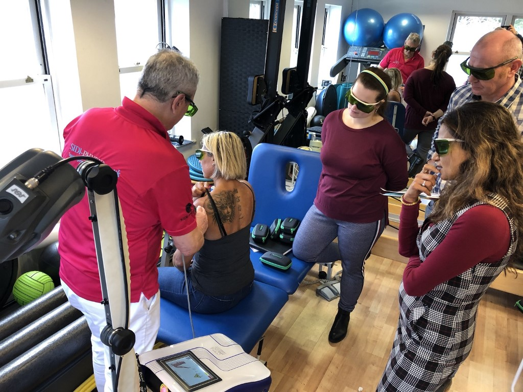 Training Mphi 5 - MLS Laser Therapy UK