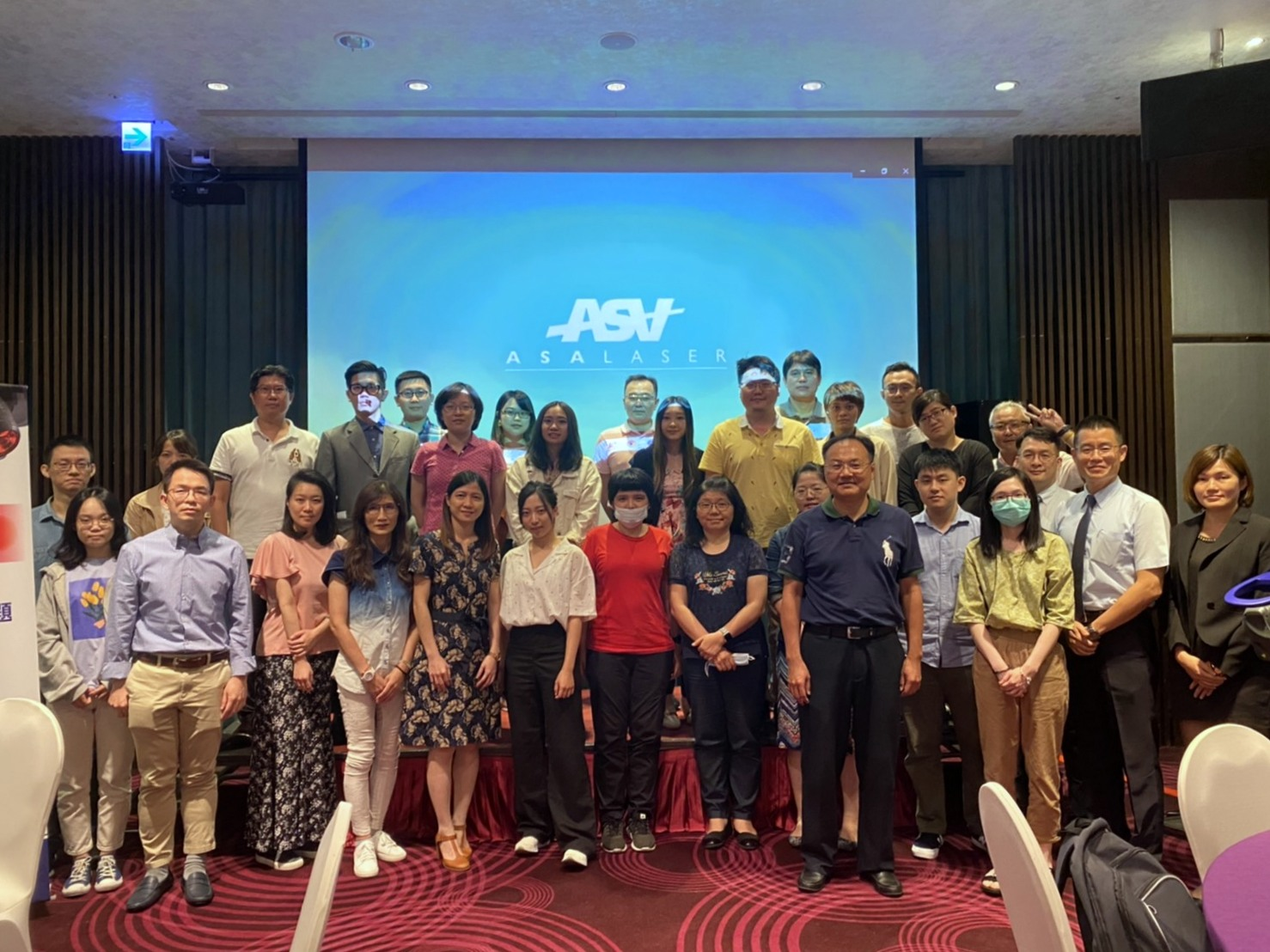 Taiwan - Workshop on ASA laser therapies, August 2020