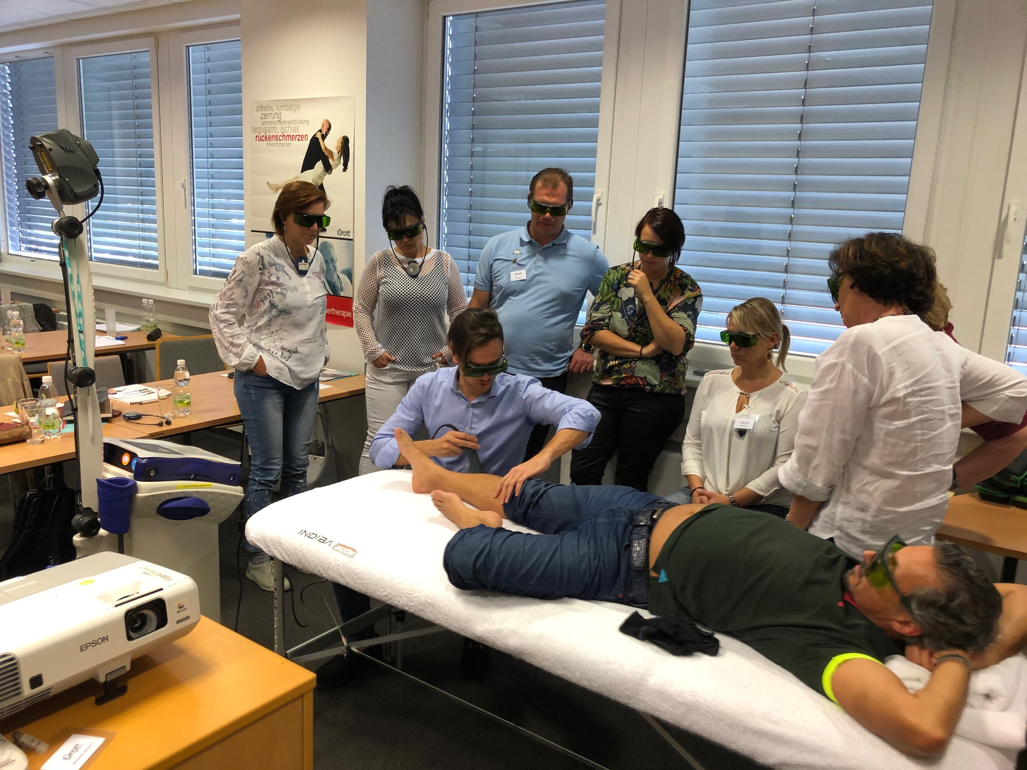 Workshop Mphi 5 laser - Wien