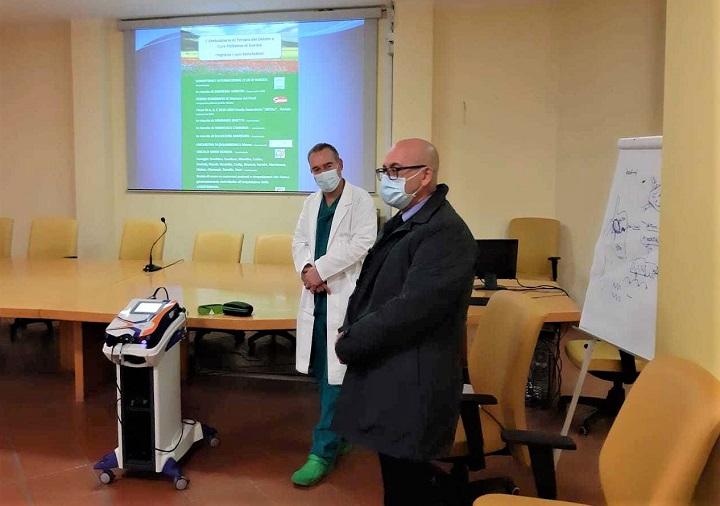 Laser Mphi 75 all'Ospedale di Gorizia