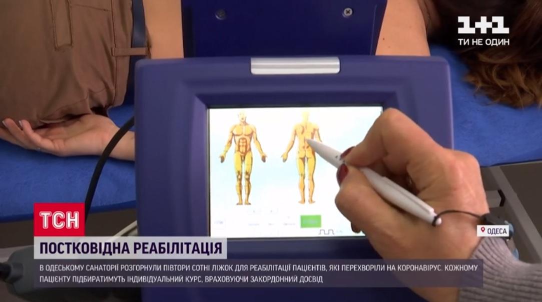 TSN (Ukraine): M6 laser post COVID-19 treatment