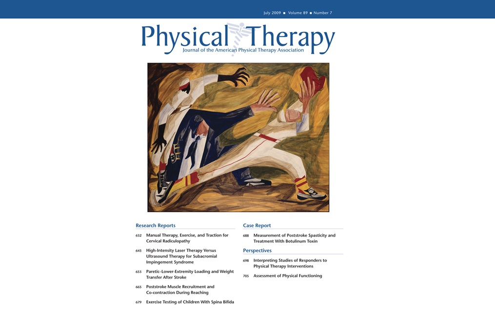 Physical Theraoy - Volume 89, Issue 7, 2009