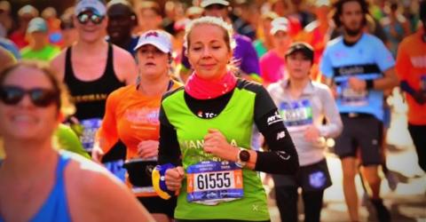 NY Marathon thanks to HIRO TT