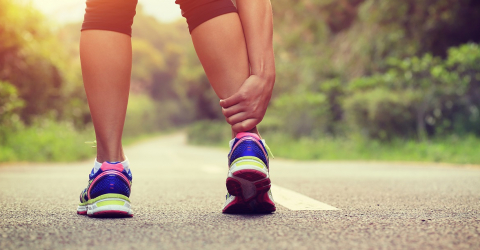 Laser therapy for ankle and knee sprains