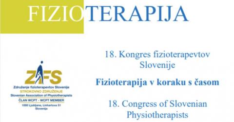 19. Kongresu Fizioterapevtov Slovenije