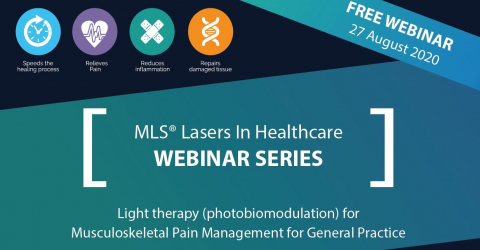 Webinar | Light therapy (photobiomodulation) for Musculoskeletal Pain Management for General Practice