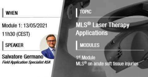 MLS Laser Therapy webinar | Australia
