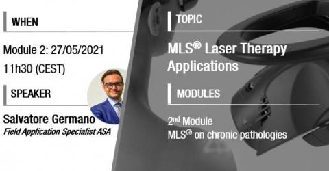MLS Laser Therapy webinar   Australia
