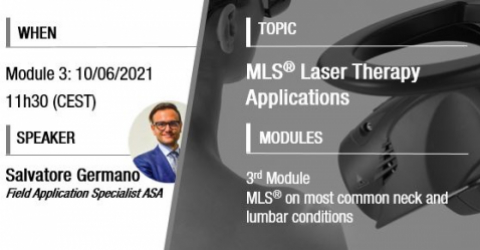 MLS laser application on neck lumbar conditions