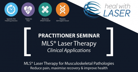 MLS Laser for muskuloskeletal disorders
