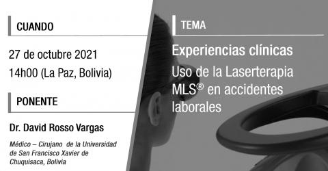 Uso de la Laserterapia MLS® en accidentes laborales