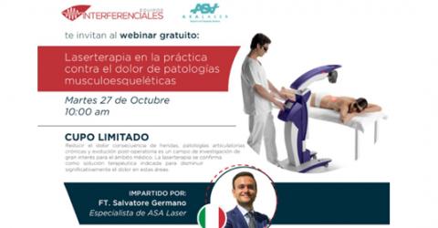Laserterapia en la práctica contra el dolor de patologías musculoesqueléticas