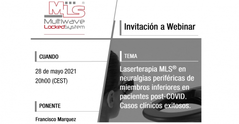 Laserterapia MLS® en neuralgias periféricas de miembros inferiores en pacientes post-COVID
