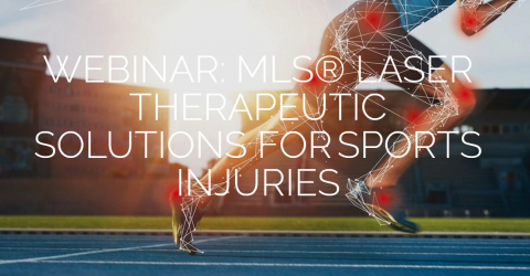 Webinar | MLS® Laser Therapeutic Solutions for Sports Injuries