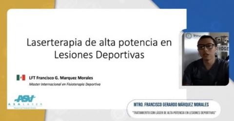 Laserterapia MLS en FEMEFI Mexico 2020