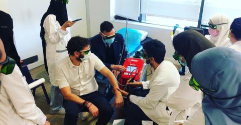 ASA lasertheraoy training - Saudi Arabia
