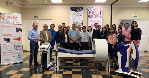 Curso de magnetoterapia ASA y Laserterapia MLS en Peru