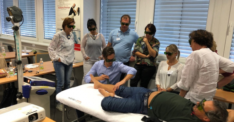 Workshop MLS Laser Therapy with Mphi 5 - Wien